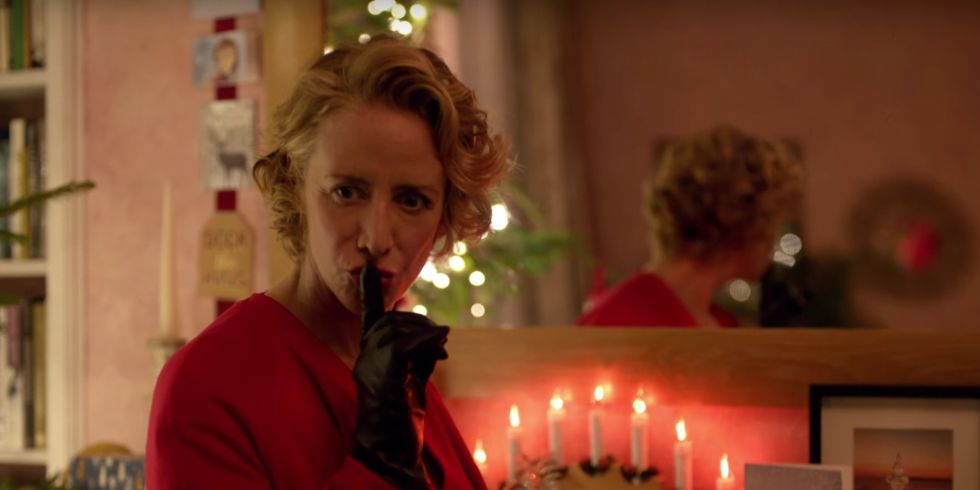 Marks & Spencer goes 50 Shades of Red with Mrs Claus for its own ...