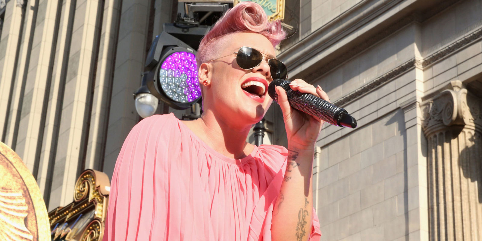 Pink makes comeback on Stargate\'s track with Sia, \'Waterfall\'