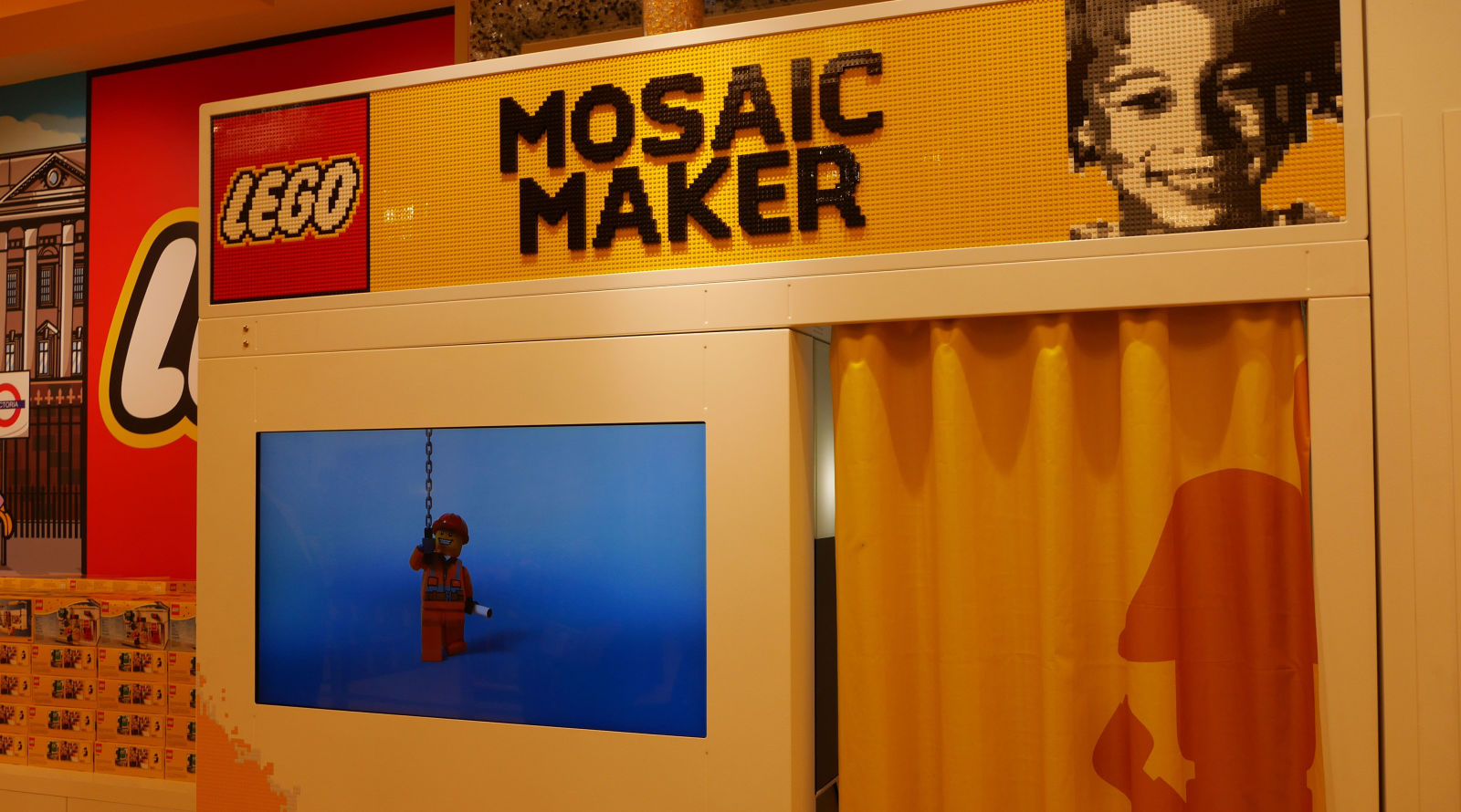 You can now make yourself out of lego and its amazing heres how lego mosaic maker solutioingenieria Image collections