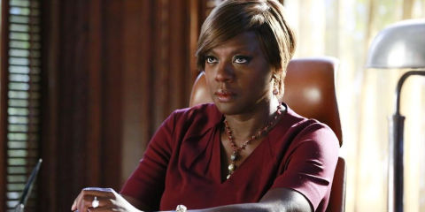 How to get away with murder bosses respond to season 4 premieres annalise viola davis in how to get away with murder ccuart Choice Image