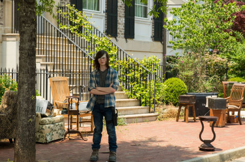 Carl Grimes, The Walking Dead, Season 7