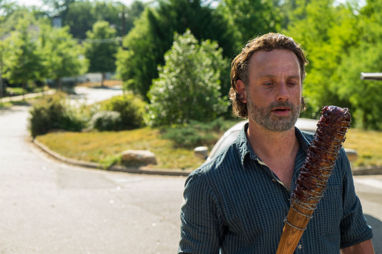 How is The Walking Dead doing in UK ratings?