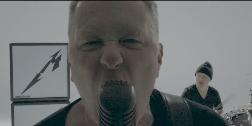 Metallicas Now That Were Dead Music Video