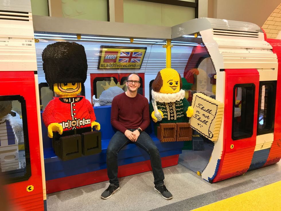 Take an exclusive first look around the world's biggest LEGO store ...