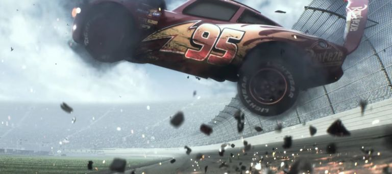 Lightning Crashes Literally In Disney And Pixars Cars 3 Trailer