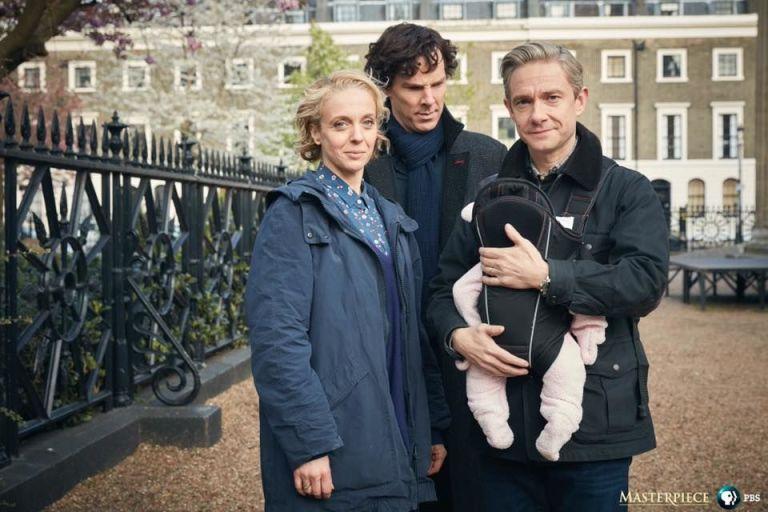 Image result for bbc sherlock holmes2017