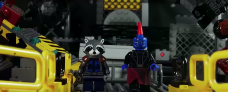 Guardians of the Galaxy Vol. 2 trailer gets a LEGO remake