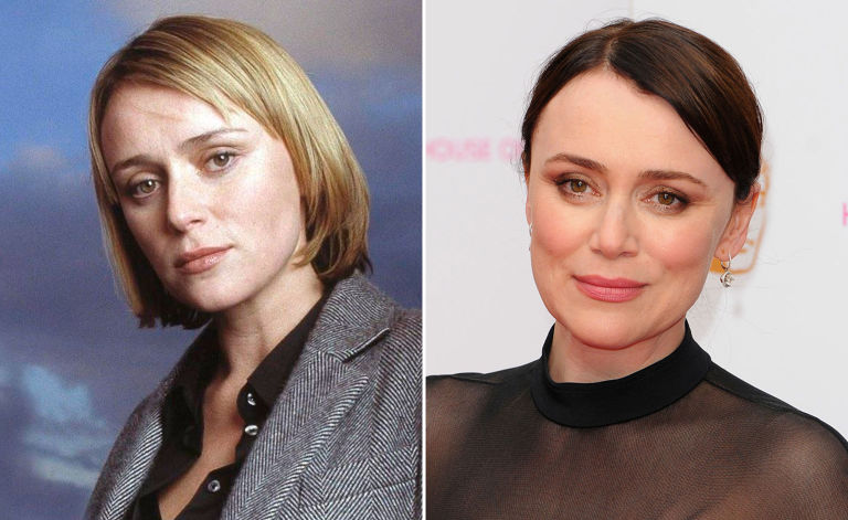 Keeley Hawes in Spooks
