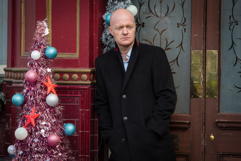 Max Branning arrives at the Queen Vic in EastEnders