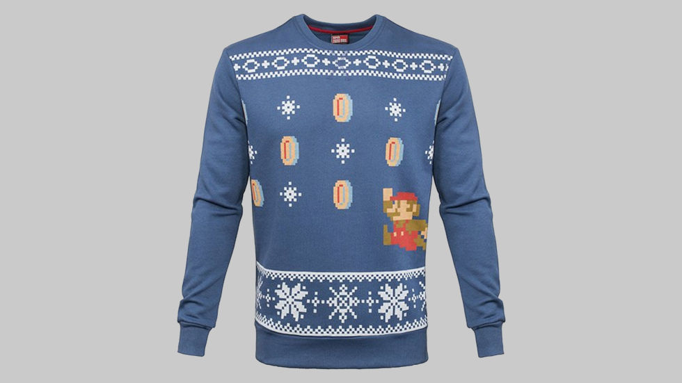 mario christmas jumper