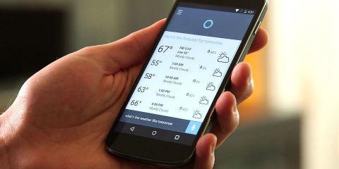 Cortana app