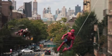 Watch new Spider-Man Homecoming teaser: Tony Stark and Peter Parker are Super Bros saving the day