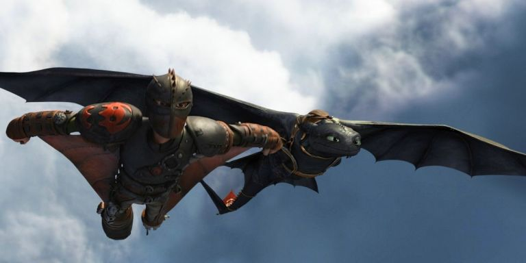 How to train your dragon 3 unveils official title and first how to train your dragon 2 toothless ccuart Image collections