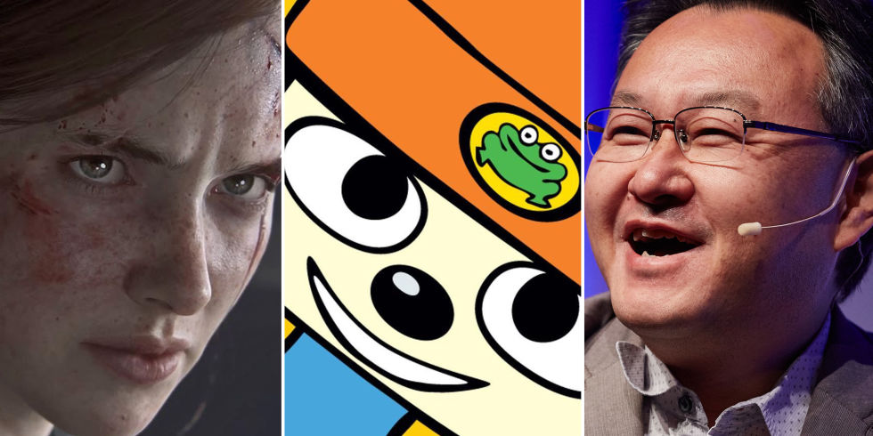 last of us part ii parappa the rapper and sony worldwide studios boss shuhei yoshida