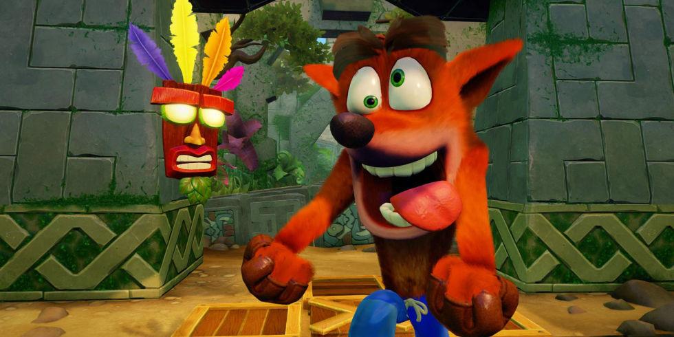 Image result for Crash Bandicoot N. Sane Trilogy gif