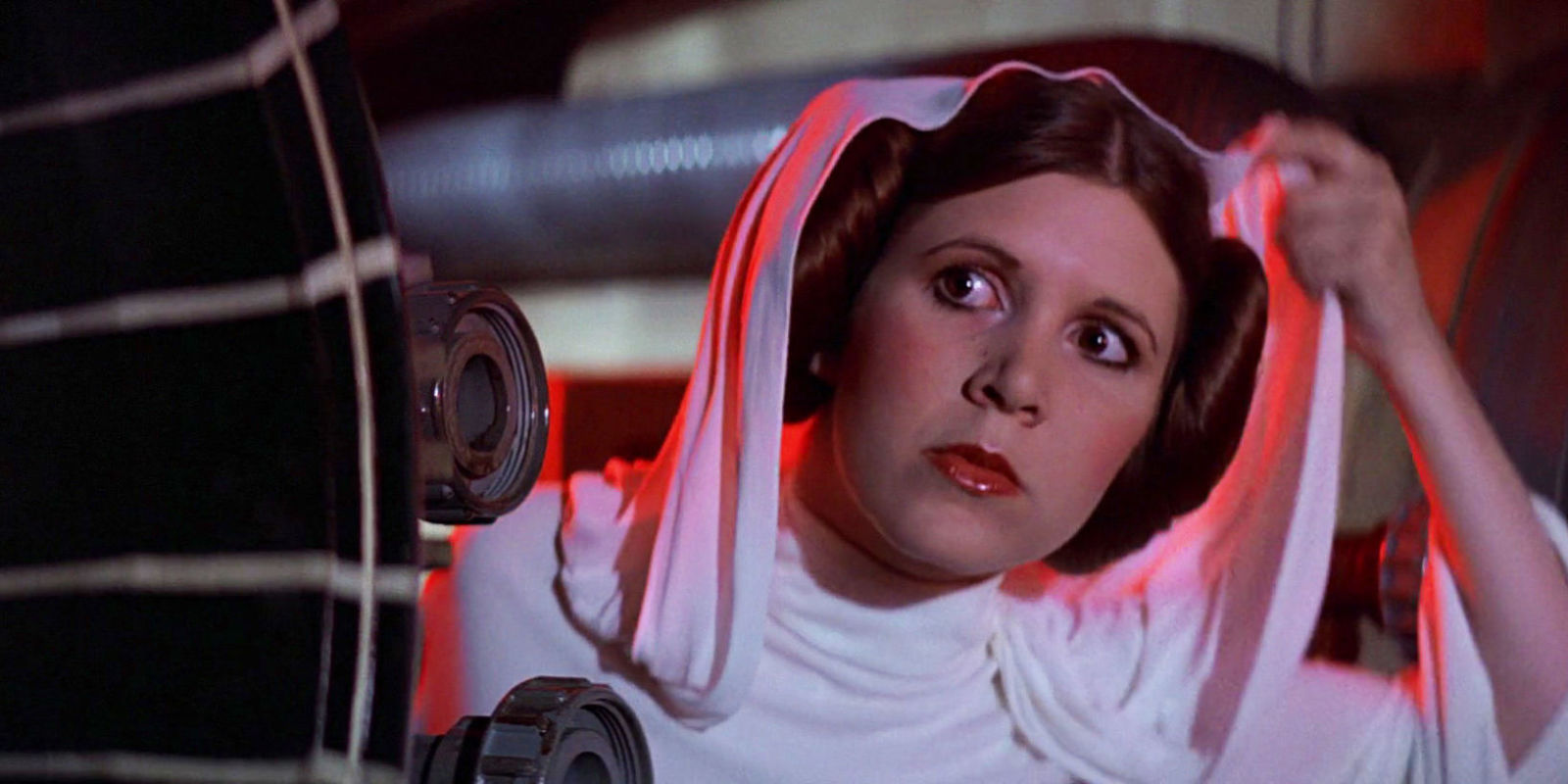 Carrie Fisher As Princess Leia In Star Wars Episode Iv: A New Hope