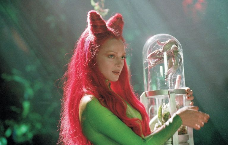 is megan fox turning evil as poison ivy in dc s harley quinn movie