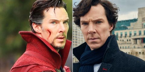 Benedict Cumberbatch had to lose weight for Sherlock - after bulking up for Doctor Strange