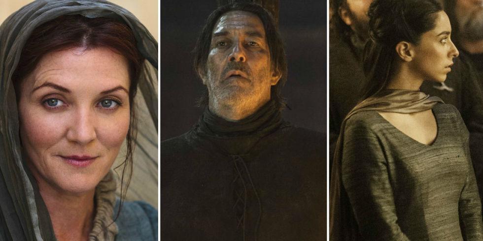 Game Of Thrones Catelyn Stark Mance Rayder Talisa Yara