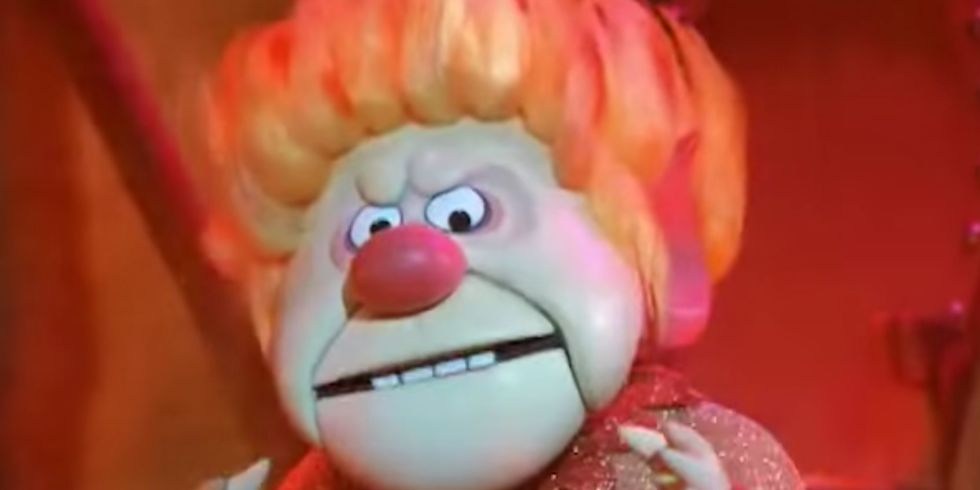 The Year Without a Santa Claus's Heat Miser, actor George S ...