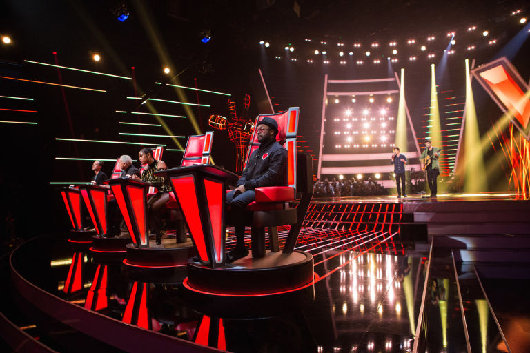 The voice uk 2017 on itv auditions judges whos on which team the voice uk coaches gavin rossdale tom jones jennifer hudson willi sciox Gallery