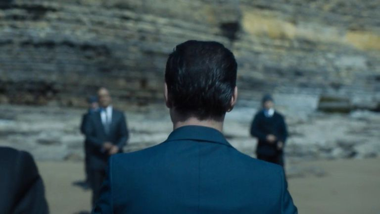 Moriarty in Sherlock s04e03: 'The Final Problem'
