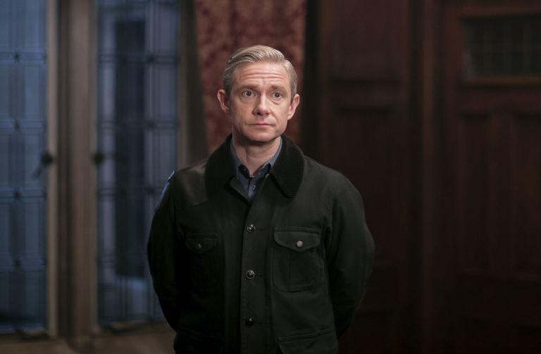 EMBARGOED 0.01 on 1/10: Watson in Sherlock S4 - Ep3