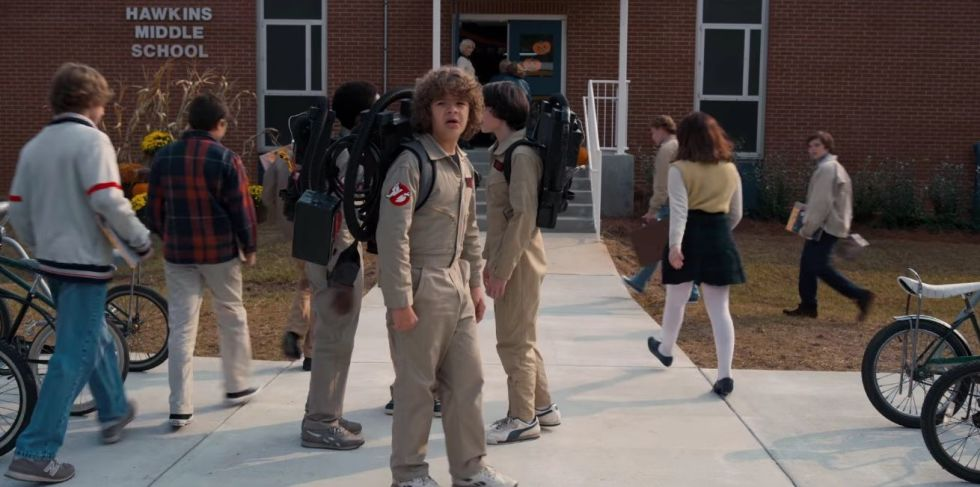 A combination of Stephen King-style scares and Steven Spielberg's sense of awe, Stranger Things' '80s-homaging awesomeness flew straight into the cultural zeitgeist as soon as it started streaming, and hasn't left it since. We can't wait for season two this Halloween.