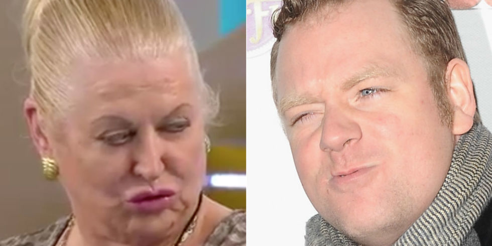 Celebrity Big Brother's Kim Woodburn and Rufus Hound
