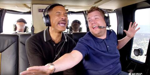 Carpool Karaoke: Will Smith and James Corden rap Fresh Prince of Bel Air theme