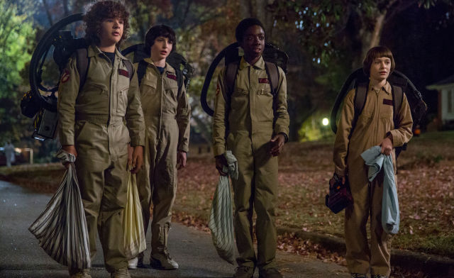 Stranger Things, series 2, Mike Wheeler, Lucas, Dustin Henderson, Will,