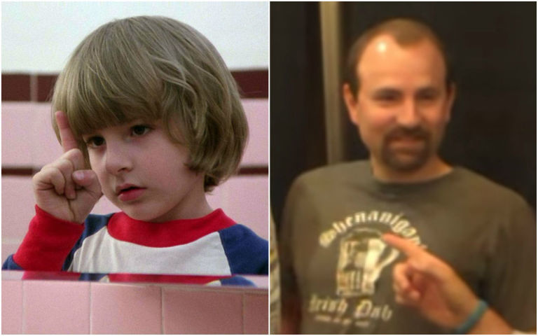 Danny Lloyd then and now The Shining