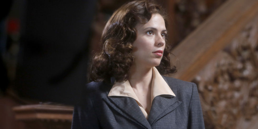 hayley atwell in marvels agent carter