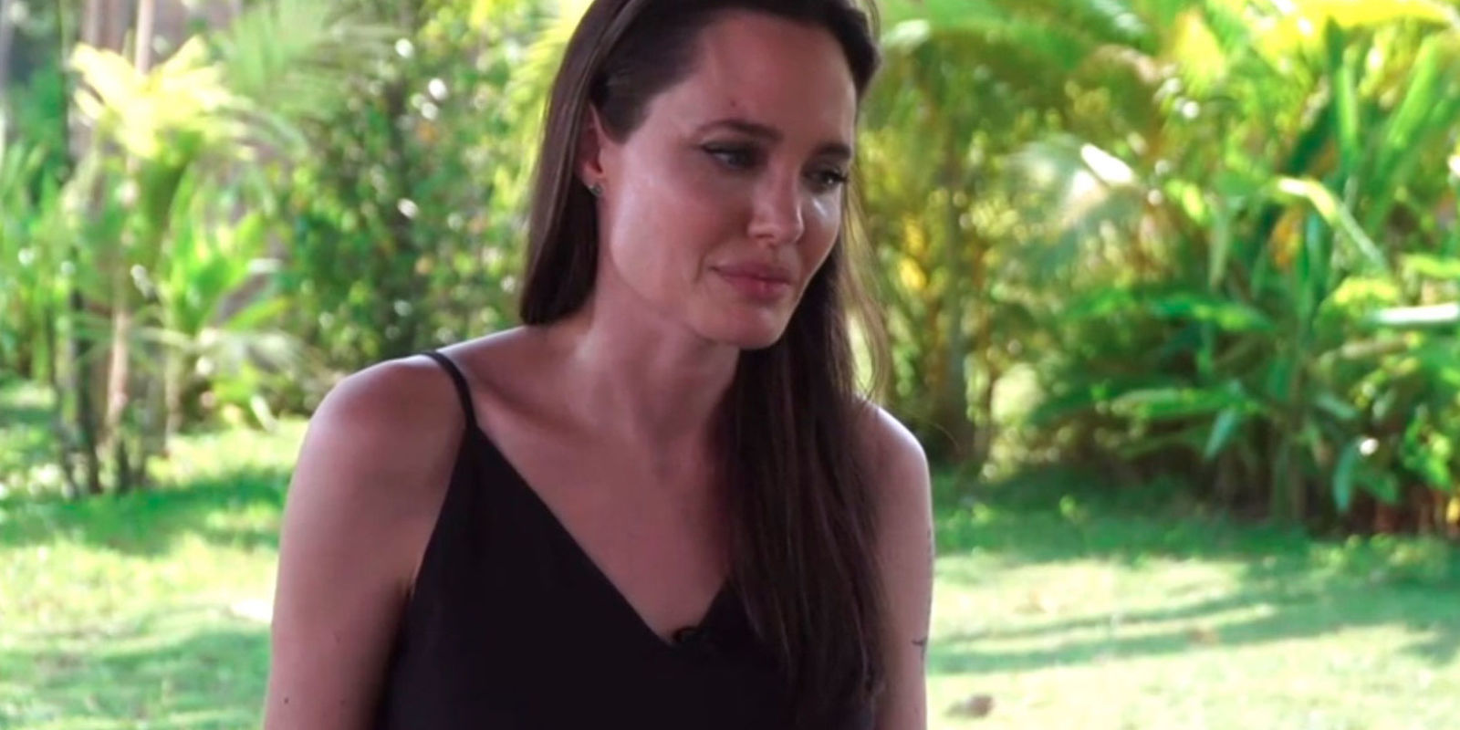 angelina jolie breaks silence after marriage breakdown during her interview angelina bbc news correspondent yalda hakim asked an incident occurred which led to your separation but we also know that you