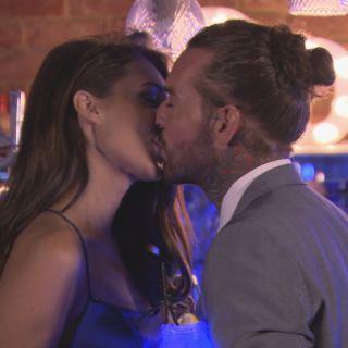 Digital Spy   TV news  TV reviews  TV ratings Megan McKenna and Pete Wicks kissing