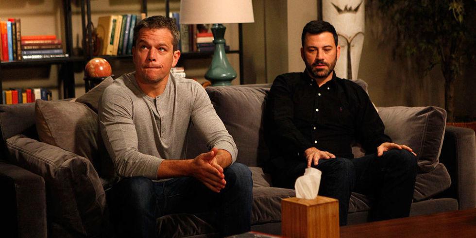 Matt Damon vs Jimmy Kimmel: A video timeline of TV\'s funniest and ...