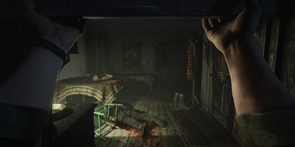 Outlast ps4 graphic sexual content