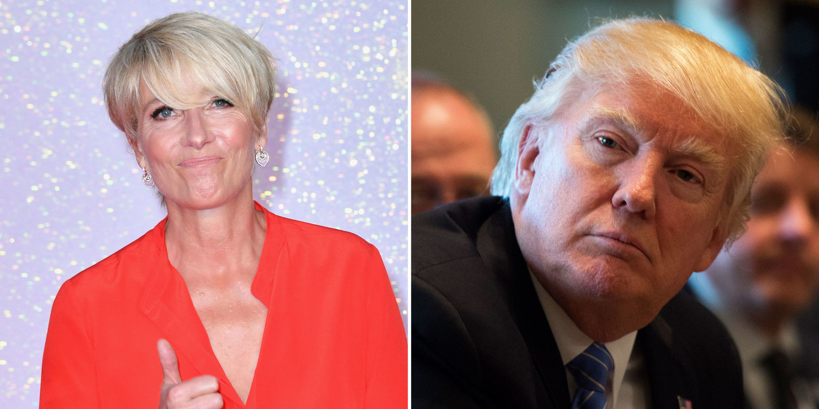 Emma Thompson reveals she once rejected Donald Trump