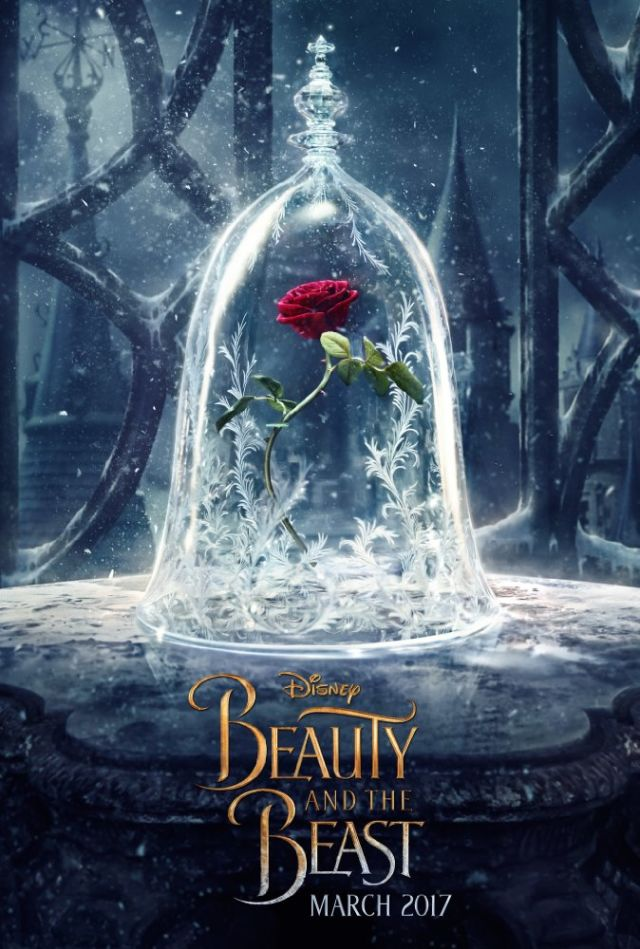 Movie posters. These amazing alternate Beauty and the Beast posters are