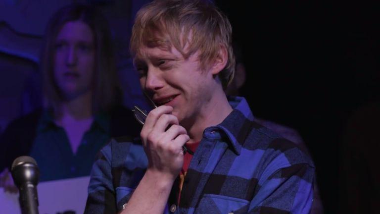 Harry Potter's Rupert Grint reveals he was Ed Sheeran all ...