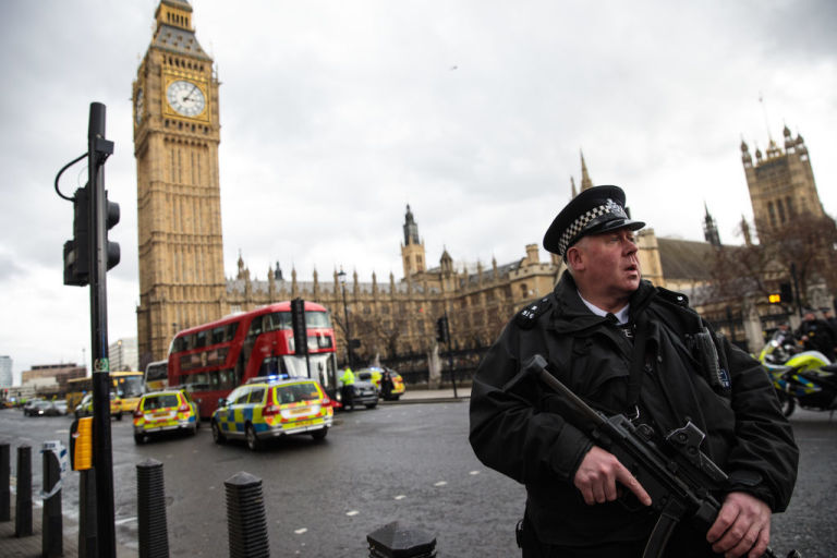 London Westminster terrorist attack
