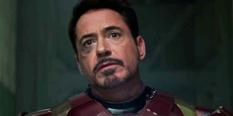 robert downey jr as iron man tony stark in captain america civil war