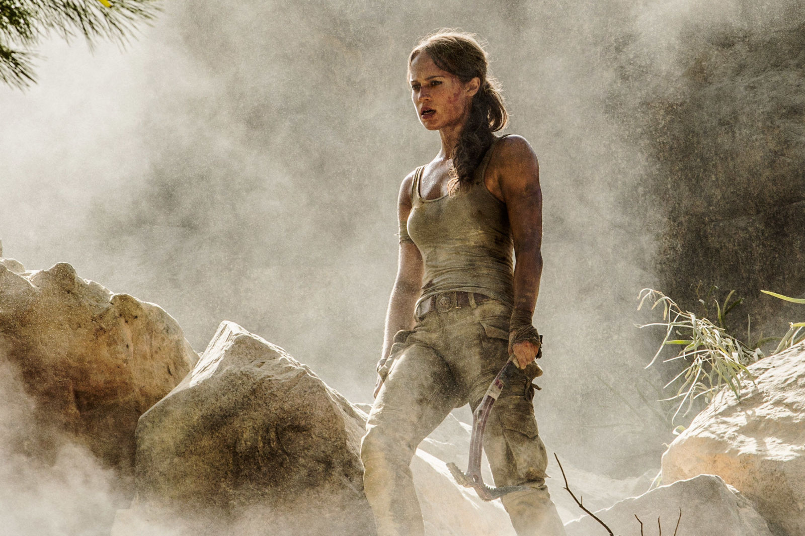 First Official Images Of Alicia Vikander As Tomb Raider's Lara Croft