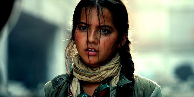 The Girl In Transformers