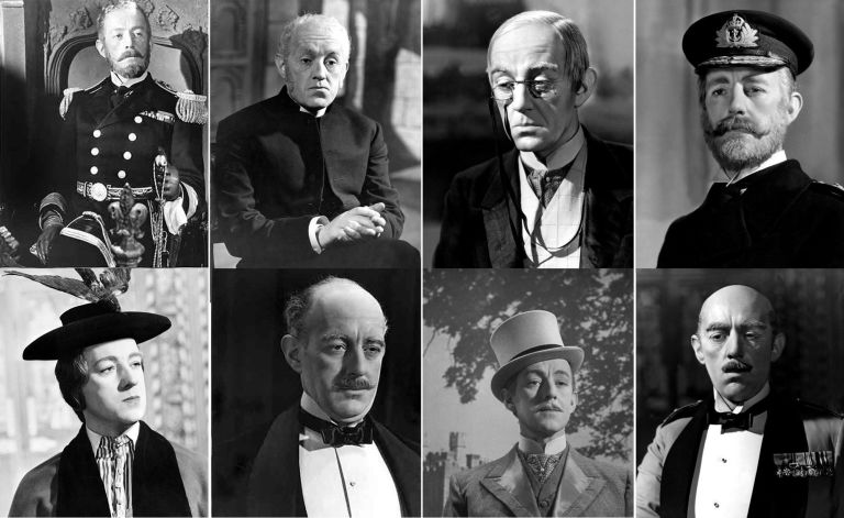 Image result for alec guinness kind hearts and coronets gifs