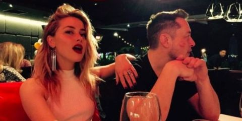 Amber Heard appears to confirm Elon Musk relationship