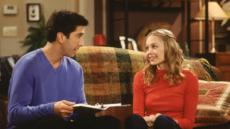 Friends ross dating student