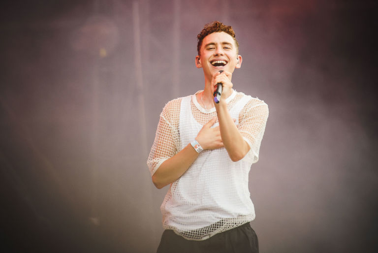 Image result for olly alexander singing