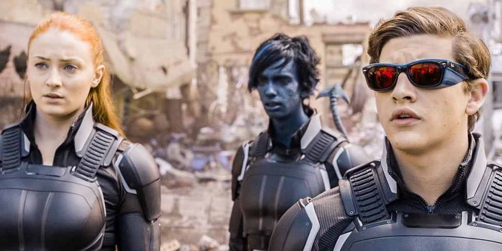 X-Men: Apocalypse Jean Grey, Nightcrawler and Cyclops