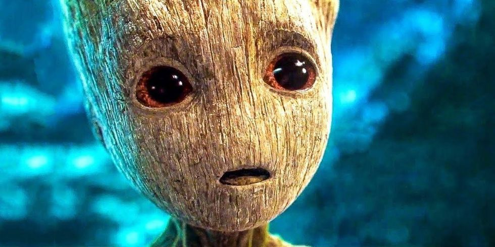james gunn reveals groot s final line in infinity war and it s